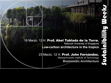 Semanas de los profesores Internacional en el Máster de diseño y Gestión Ambiental de Edificios