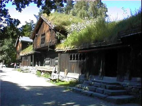 Ejemplo de construcción de vivienda en entorno rural en Noruega