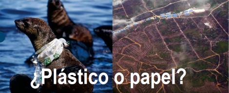 ¿Plástico o papel? / Leyla Acaroglu
