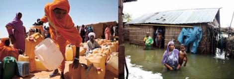 Impacto cambio climático en los países menos desarrollados
